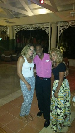 Grand Bahia Principe La Romana: The ladies and manuel
