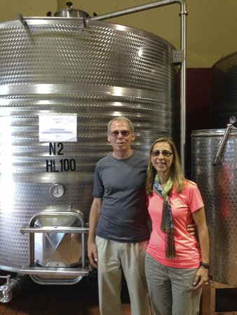 Tuscan Wine School - Siena : Our tour of the winery.