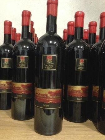 Tuscan Wine School - Siena : Wines from Agricola Poggio Rubino.