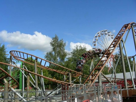 M & D's Scotlands Theme Park: runaway mine