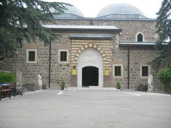 Anadolu Medeniyetleri Muzesi: Ingreso al museo