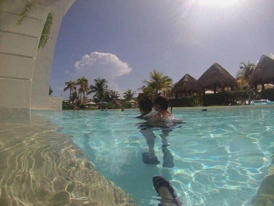 Paradisus Playa Del Carmen La Esmeralda: swim up room