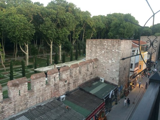 Sirkeci Mansion: View from our Room