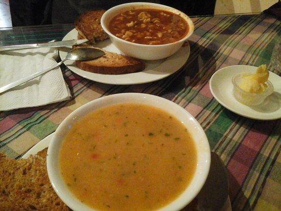 Cafe Condesa: soup
