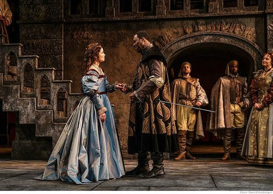 "Portland Center Stage at The Armory: ""Othello"" featuring Nikki Coble, Daver Morrison, Jim Vadala, Ricardy Charles Fabre & Dana Green"