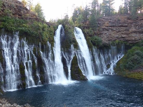 McArthur-Burney Falls Memorial State Park: the falls