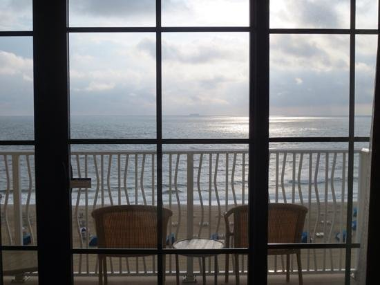 Hilton Virginia Beach Oceanfront : amazing seaview from my room