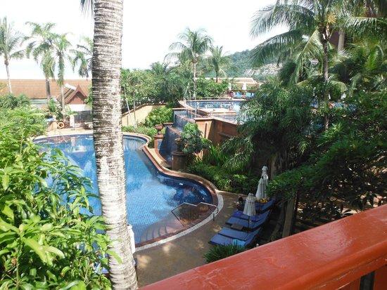 Novotel Phuket Resort : view from veranda near resteraunt