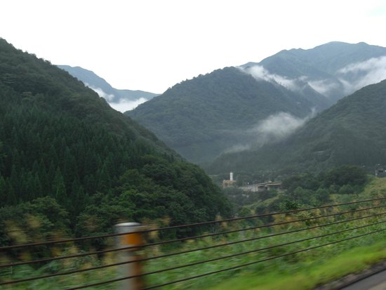 Hakusan National Park, Japan: The mountains appear around Ishikawa.  Fresh air!