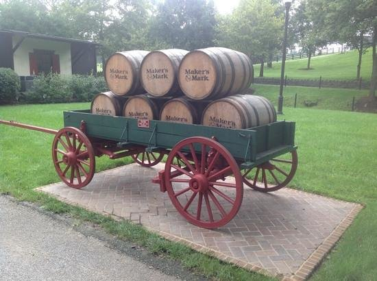 Maker's Mark : wagon used in their adds