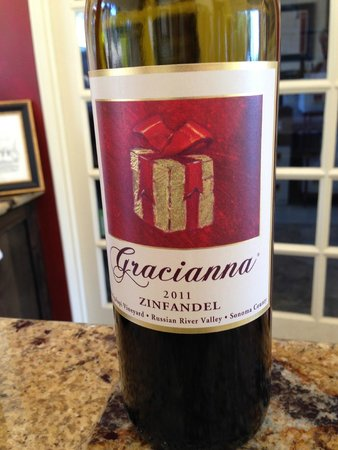 Gracianna Winery: Awesome wine!