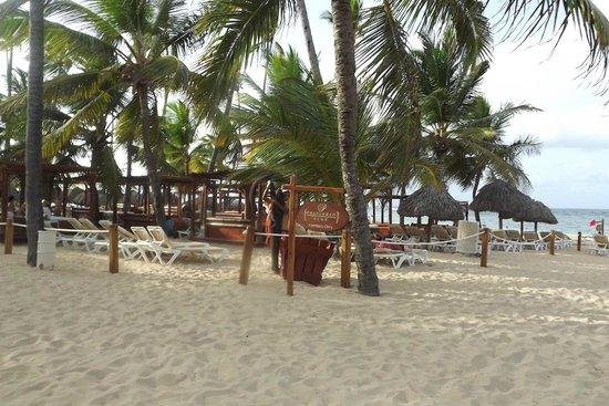 Dreams Punta Cana Resort & Spa: Beach - Reserved for preferred Club