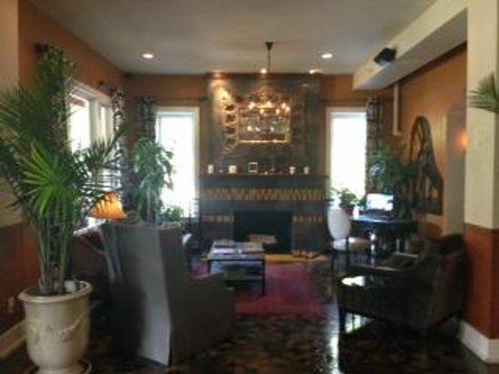 Hollander Hotel: lobby/business area