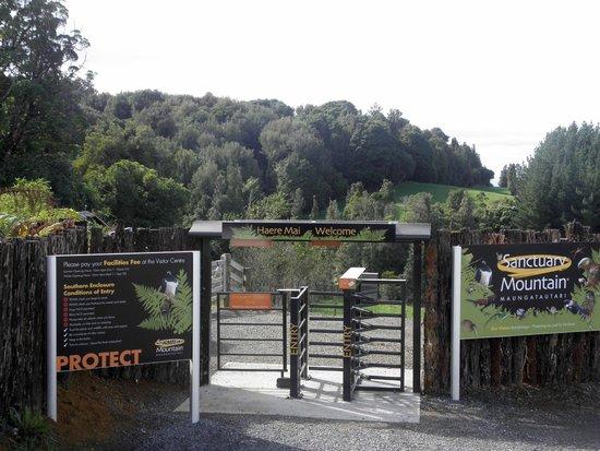 Sanctuary Mountain Maungatautari: Вход в парк