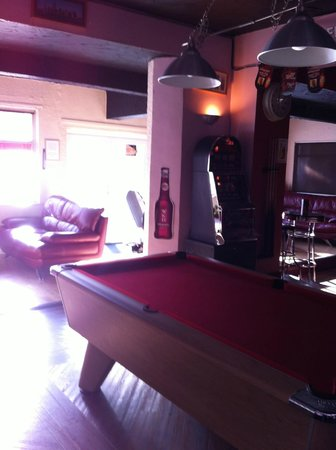 Mardi Gras Guest Accommodation : Bar/pool room