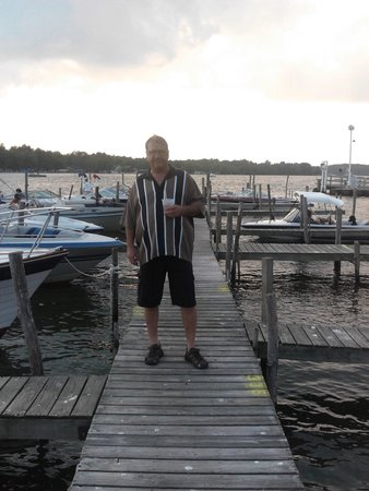 Bemus Point, NY: on the dock