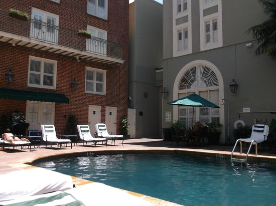 Bourbon Orleans Hotel: Pool Area