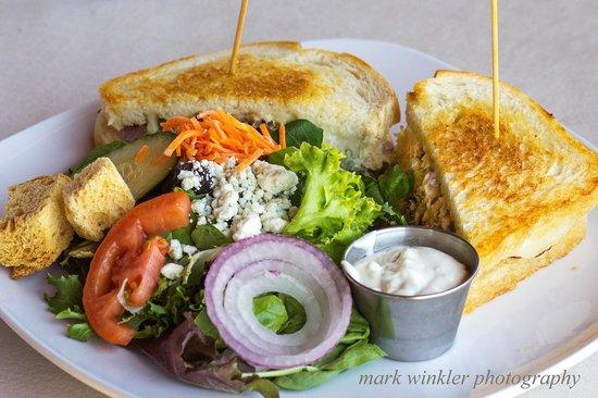 The Grill at Hunter Ranch: Tuna Melt