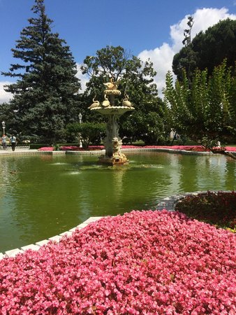 Dolmabahce Palace: Fountain