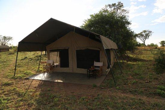 Ubuntu Camp, Asilia Africa: Our Tent
