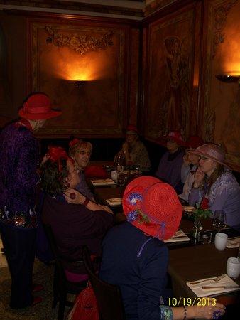 Brasserie du casino: A lovely dining room
