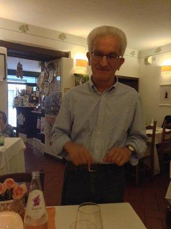 Al Gambero Rosso: Moreno spiega i piatti