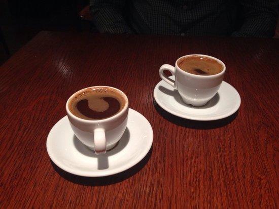 Meze Kitchen: Wonderful Greek coffee