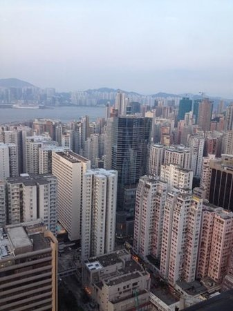 Harbour Grand Hong Kong: view from roof top