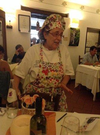 Al Gambero Rosso: Giuliana ai tavoli