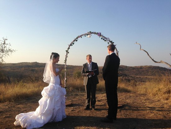 Madikwe Hills Private Game Lodge: The wedding day