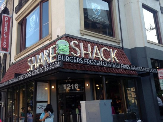 Shake Shack Dupont Circle Location