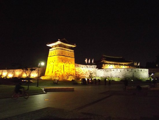 Forteresse de Hwaseong : West Gate Hwaseomun.