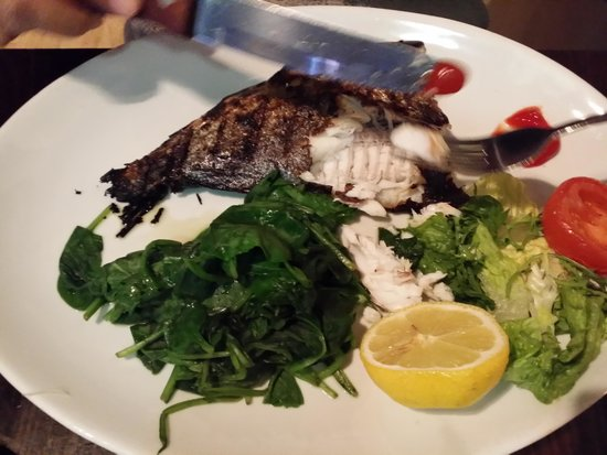 Covent Garden Grill: WHOLE GRILLED SEA BREAM