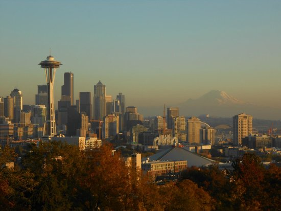 Kerry Park: Awesome view!