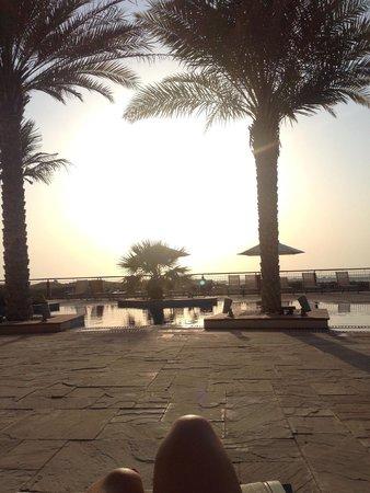 Park Inn by Radisson Abu Dhabi Yas Island: View from pool