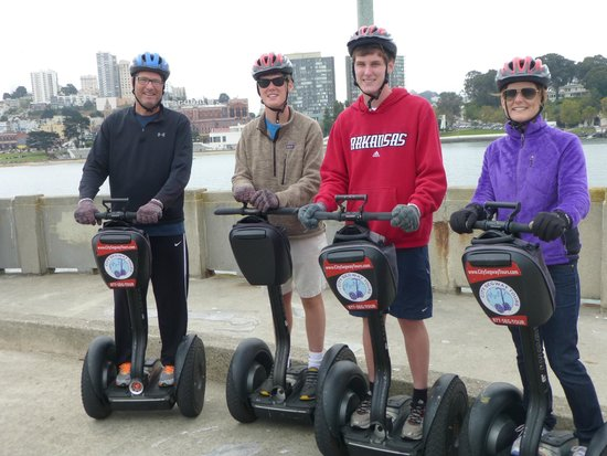 City Segway Tours San Francisco : San Fran City Segway Tour