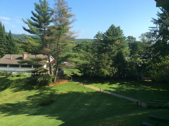 Golden Eagle Resort: from the balcony 2014
