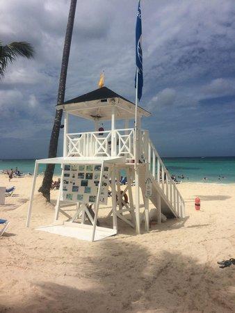 Grand Bahia Principe Punta Cana: Lifeguard station.