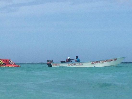 Grand Bahia Principe Punta Cana : Tubing boat.