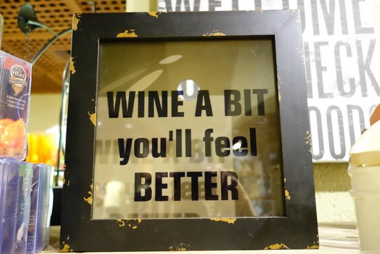 Chateau Ste. Michelle Vineyards: Even a bit of good advice!