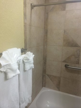 Holiday Inn Corpus Christi - N. Padre Island: Plenty of big folded towels