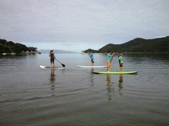 Great Barrier Lodge: Perfect location for SUP