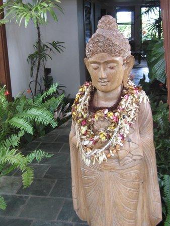 the welcoming Buddha