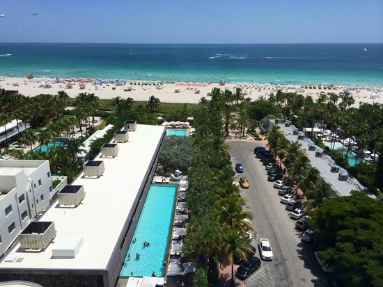 Sls South Beach Ocean View From High Floor