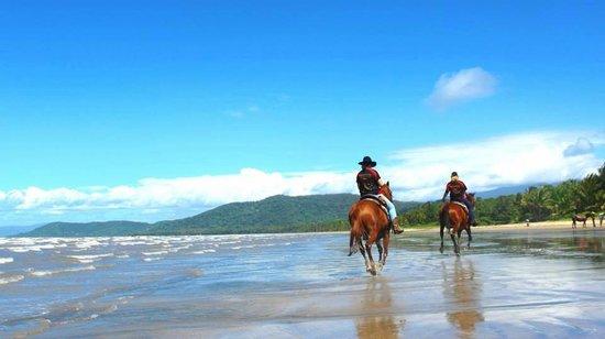 Wonga Beach, Australie : beautiful days ride
