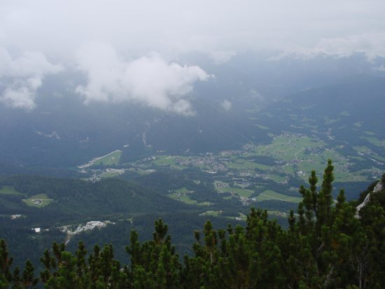Kehlsteinhaus: View from the Eagles Nest