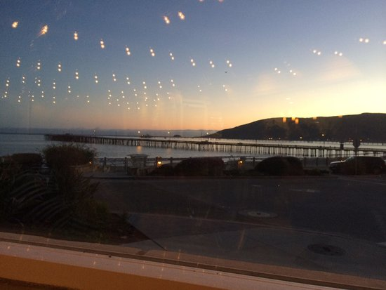 Avila Beach, CA: View out the window