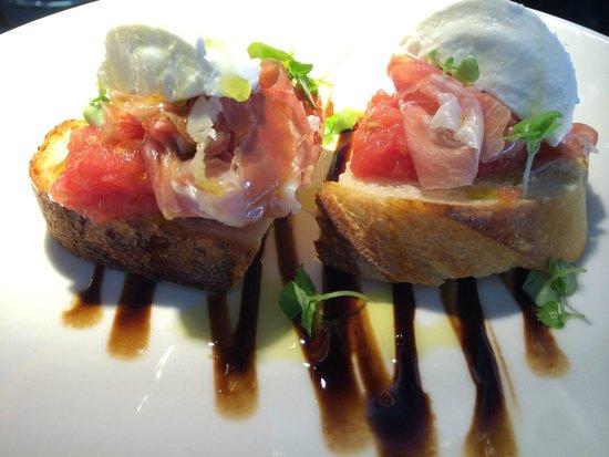 Cafe Victor: bruschetta