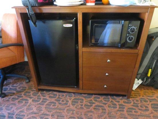 Hampton Inn St. George : fridge and microwave