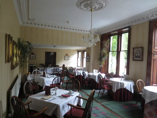 Strathgarry Restaurant and Rooms: Dining Room